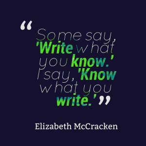 McCraken quote