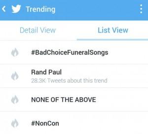 trending 2
